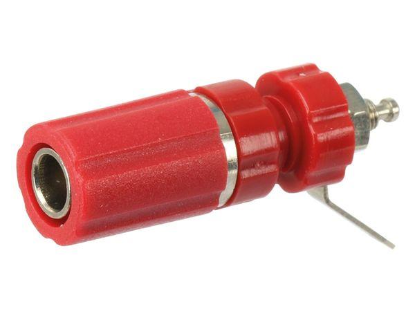 Polklemme, M3, 24 A, 4 mm, rot - Produktbild 1