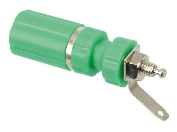 Polklemme, M3, 24 A, 4 mm, grün - Produktbild 1