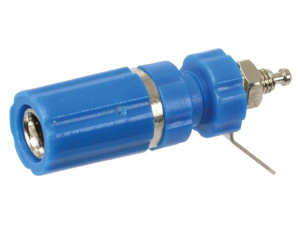 Polklemme, M3, 24 A, 4 mm, blau - Produktbild 1