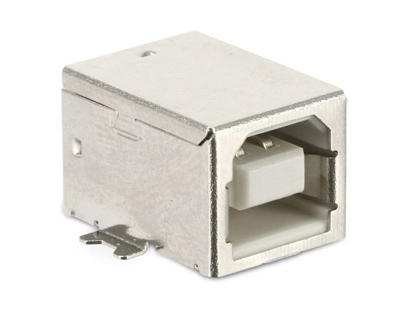 USB-B Einbaubuchse, 90°, SMD - Produktbild 1