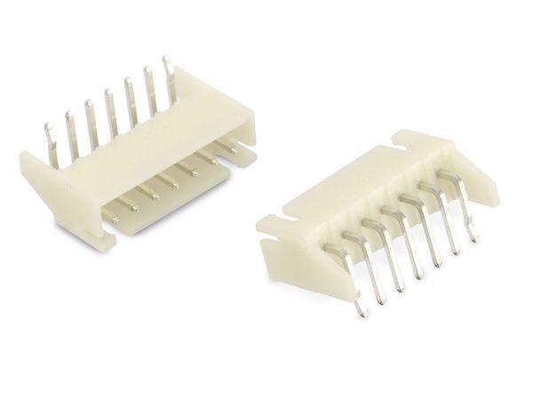 Stiftleiste Serie JST XH (S7B-XH-A), 7-polig, 10 Stück