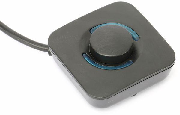 Steckdosenleiste mit Fußschalter DAYHOME SLK-F4-2/S, schwarz - Produktbild 2