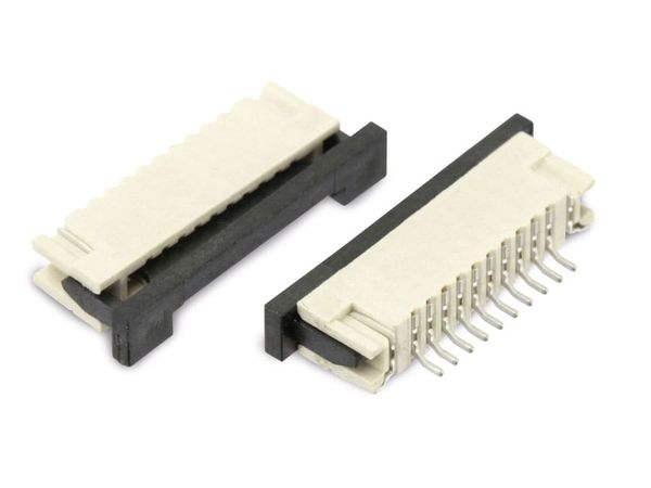 Flexprint-Buchse SAMTEC ZF1-10-01-T-WT-TR, 10-polig