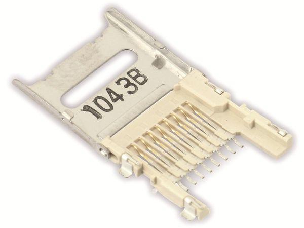 MicroSD Speicherkarten-Sockel MOLEX 500901-0801 - Produktbild 1