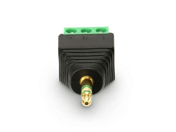 Klinkenstecker DAYCOM A-KS3.5/SK - Produktbild 1