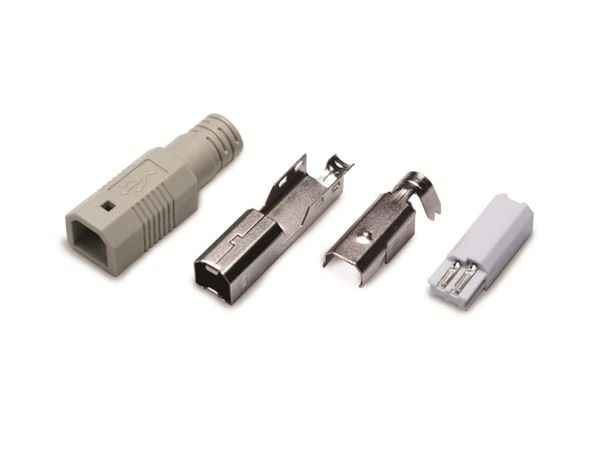 USB 2.0 Lötstecker