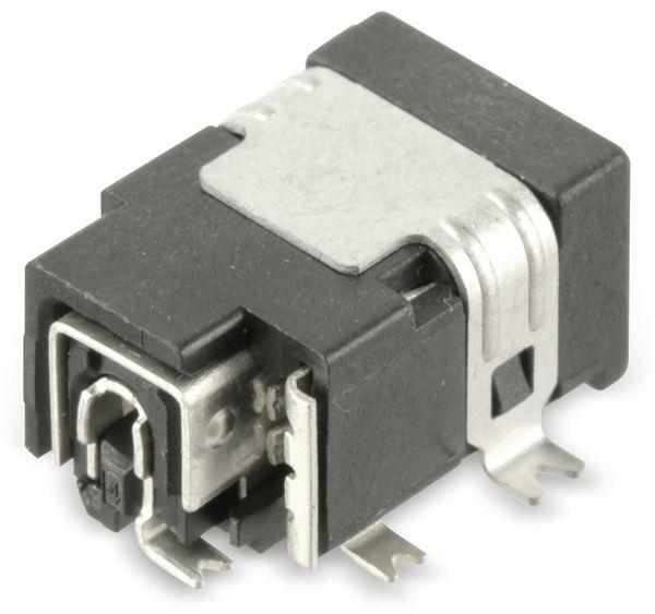SMD Hohlbuchse mit Schaltkontakt LGP3131-0200, 5,15/1,65 mm - Produktbild 2