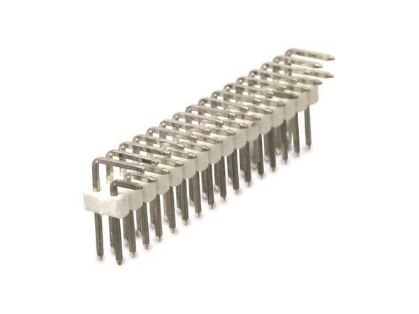 Stiftleiste, 2x 16-polig, 90° - Produktbild 1