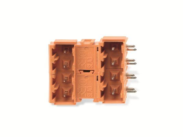WEIDMÜLLER OMNIMATE Signal SLAD08/90B3.2SNOR, Stiftleiste, 2x4-polig - Produktbild 4