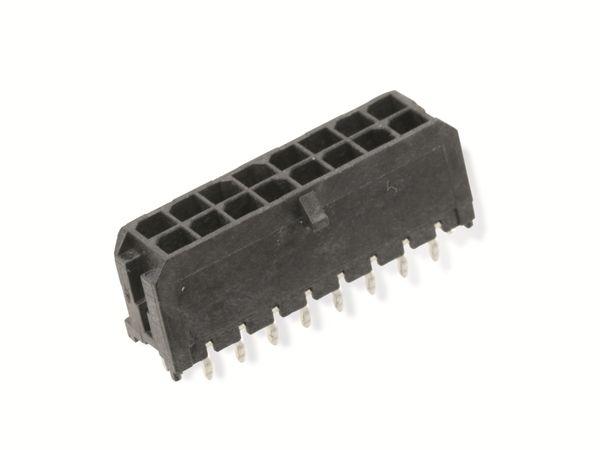 Leiterplattenleiste MOLEX Micro-Fit 3.0 0430451626, 2x8, RM 3 - Produktbild 1