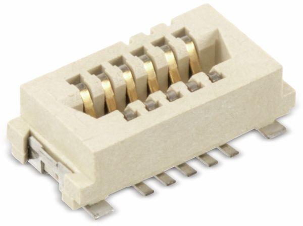 SMD Leiterplatten-Steckverbinder FCI CONAN 91921-31111, 11-polig