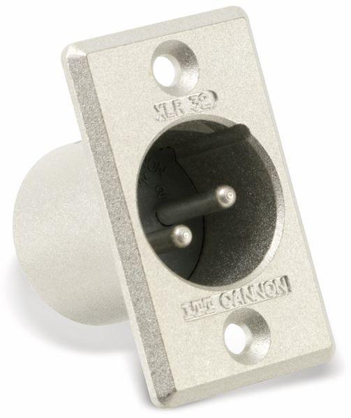 XLR-Einbaustecker ITT CANNON XLR 32 - Produktbild 1