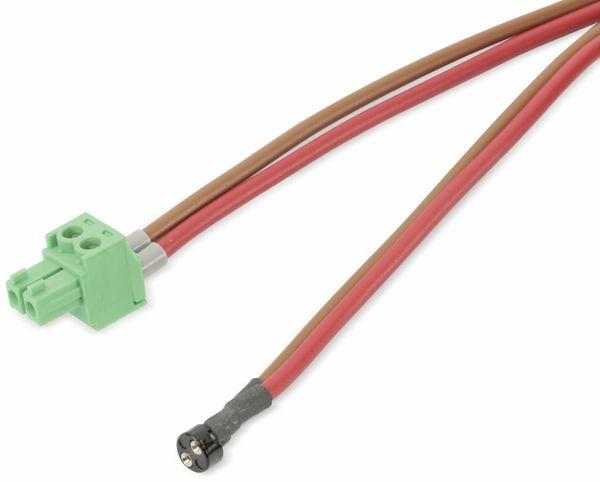 Anschlussleitung mit Steckfassung, rot/braun, 1,4 m - Produktbild 1