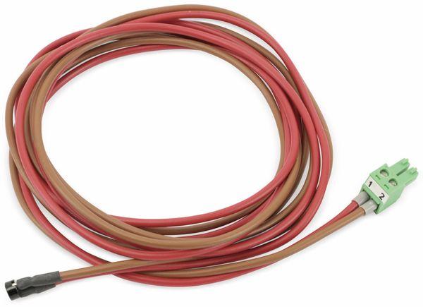 Anschlussleitung mit Steckfassung, rot/braun, 1,4 m - Produktbild 2