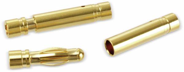 Goldkontakt-Steckerset, 4 mm, 5 Paare - Produktbild 3