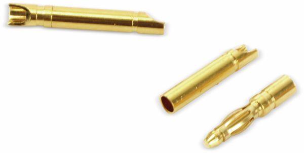 Goldkontakt-Steckerset, 2 mm, 5 Paare - Produktbild 2