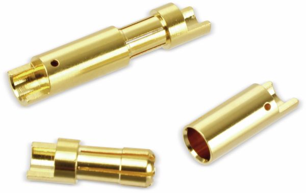 Goldkontakt-Steckerset, 5,5 mm, 5 Paare - Produktbild 2