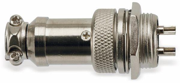 Steckverbinder-Set GX16-2, 2-polig