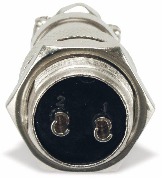 Steckverbinder-Set GX16-2, 2-polig - Produktbild 7