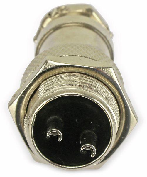 Steckverbinder-Set GX16-2, 2-polig - Produktbild 8