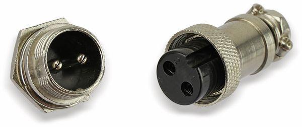 Steckverbinder-Set GX16-2, 2-polig - Produktbild 10