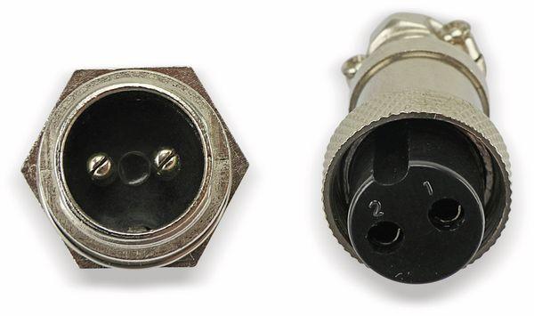 Steckverbinder-Set GX16-2, 2-polig - Produktbild 11