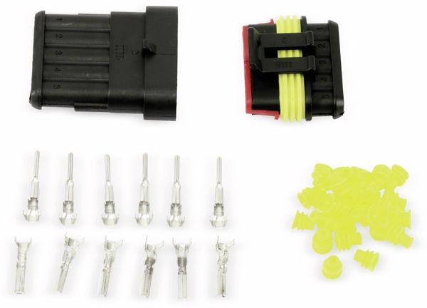 Wasserdichtes Steckverbinder-Set, IP65, 5-polig