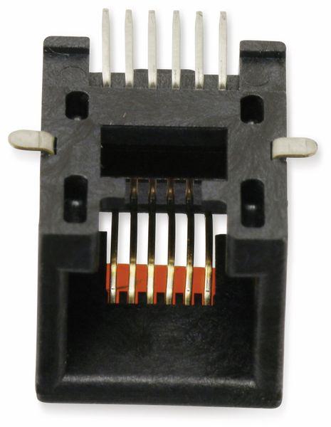 SMD Modularbuchse MOLEX 0855025007, 6P6C, 90° - Produktbild 1