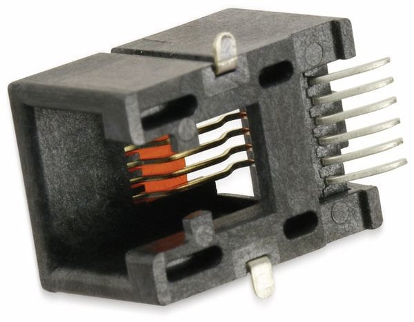 SMD Modularbuchse MOLEX 0855025007, 6P6C, 90° - Produktbild 2