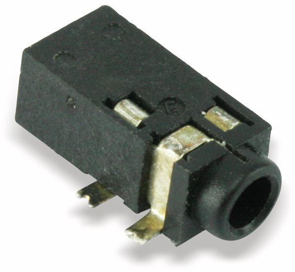 SMD Klinkenbuchse, 2,5 mm, 4-polig - Produktbild 1