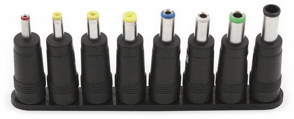 Hohlstecker-Adapterset für Netzteile mit 5,5/2,1 mm Stecker