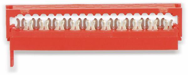 Micro-MaTch Flachbandkabel-Steckverbinder, 2x10 - Produktbild 1