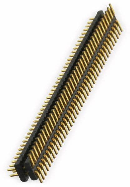 SMD Flachprofil-Stiftleiste SAMTEC MW-40-03-G-D-109-065, 80-polig