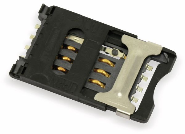 SMD SIM-Karten-Sockel ITT CCM03-3013 - Produktbild 1