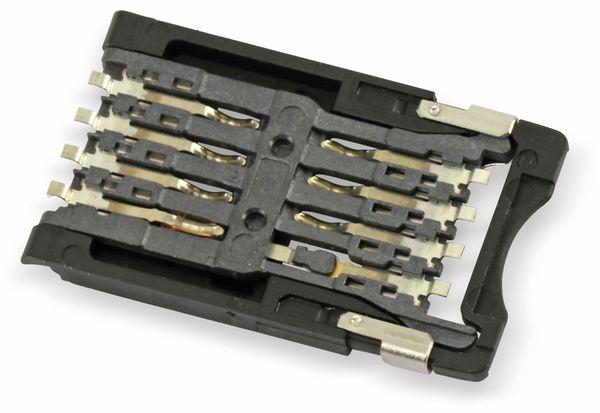SMD SIM-Karten-Sockel ITT CCM03-3013 - Produktbild 2