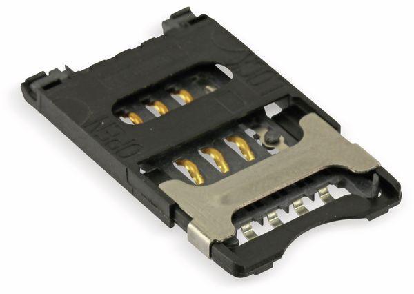 SMD SIM-Karten-Sockel ITT CCM03-3013 - Produktbild 3