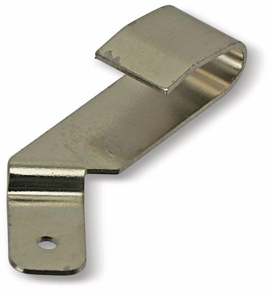 Batteriekontakt mit Lötöse 45°, 6x24,5 mm - Produktbild 1