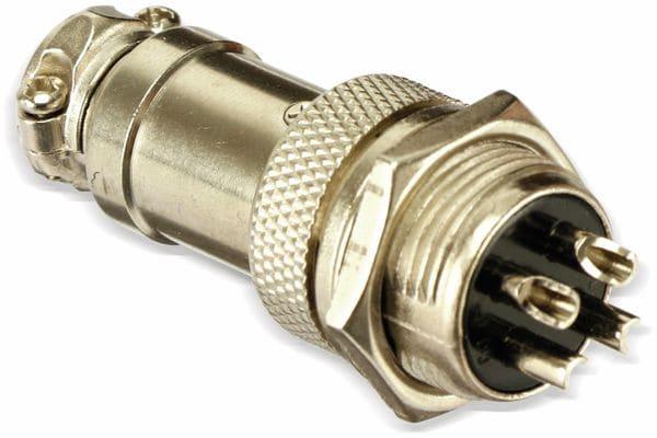Steckverbinder-Set GX16-4, 4-polig