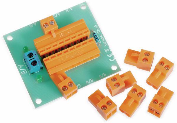 Stromverteiler 2x 8-polig, S2x4D, mit 8 Steckern und Kontrollleuchten - Produktbild 2