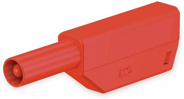STÄUBLI SLS425-SE/N Sicherheitsstecker 4mm rot