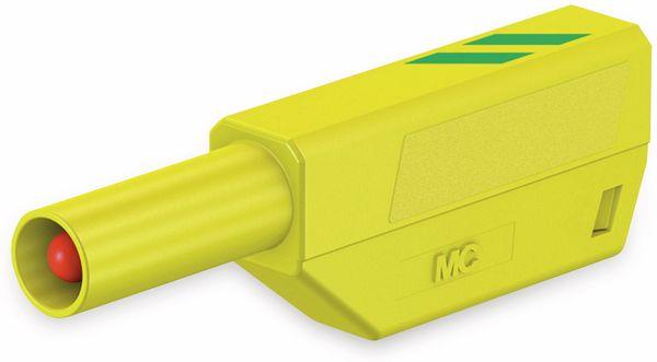 STÄUBLI SLS425-SE/N Sicherheitsstecker 4mm grün/gelb