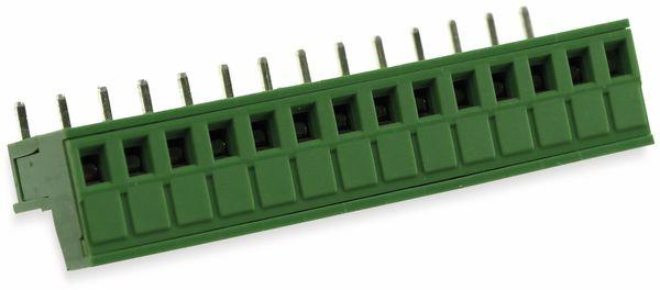 Leiterplattenanschlussklemme, 14pol.. RM5,08 mm, 10A - Produktbild 3