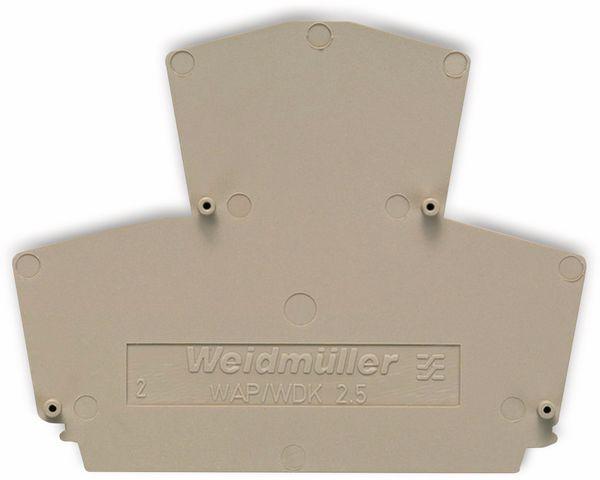 Weidmüller, Endplatte, WAP WDK2.5 1059100000