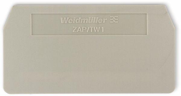 Weidmüller, Abschlussplatte, ZAP/TW 1 1608740000