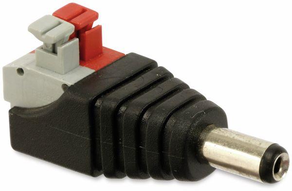 Hohlsteckeradapter, 5,5/2,1 mm auf Steckklemmen - Produktbild 2