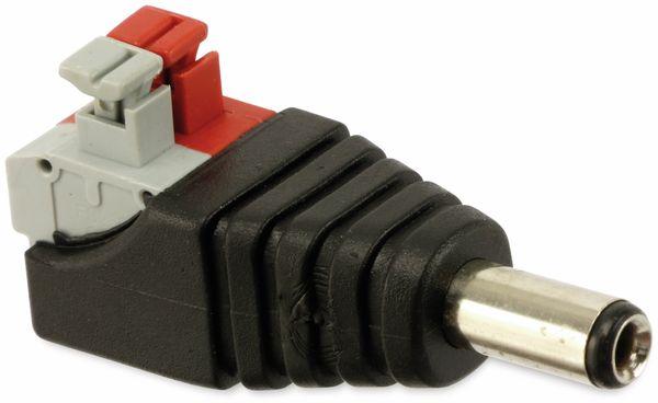 Hohlsteckeradapter, 5,5/2,5 mm auf Steckklemmen - Produktbild 2