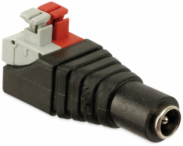 Hohlkupplungsadapter, 5,5/2,1 mm auf Steckklemmen - Produktbild 2