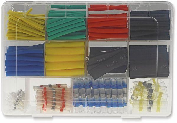 Lötverbinder & Schrumpfschlauch Set, ChiliTec, 360-teiliges Sortiment - Produktbild 5