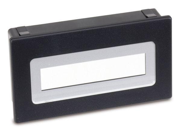 LCD-Einbaurahmen FR216, für 2x16 Display - Produktbild 1