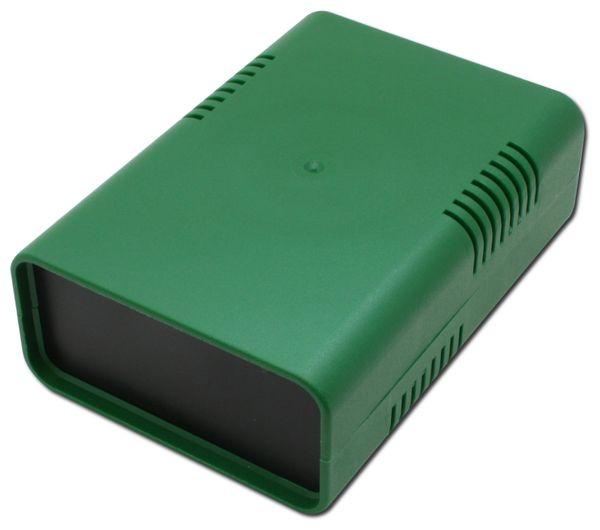 Kunststoffgehäuse DONAU ELEKTRONIK, KGB14, grün